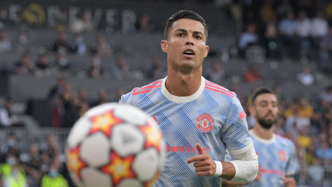 Manchester United's Portuguese striker Cristiano Ronaldo is once again football's highest earner. Photo: AFP