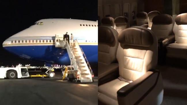 Inside Kim and Kanye's 'insane' private jet