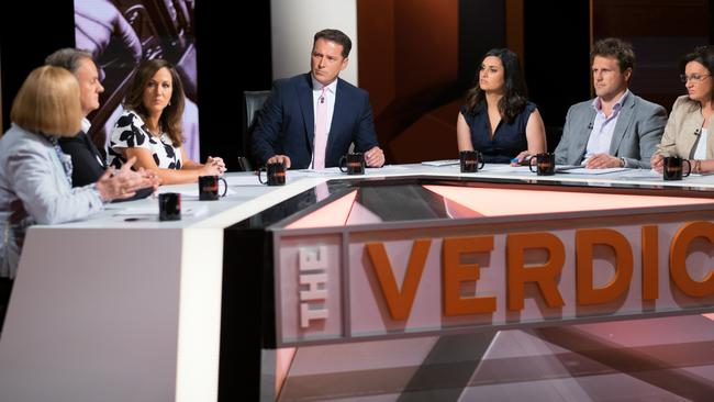 With eight members, The Verdict panel was bursting at the seams.
