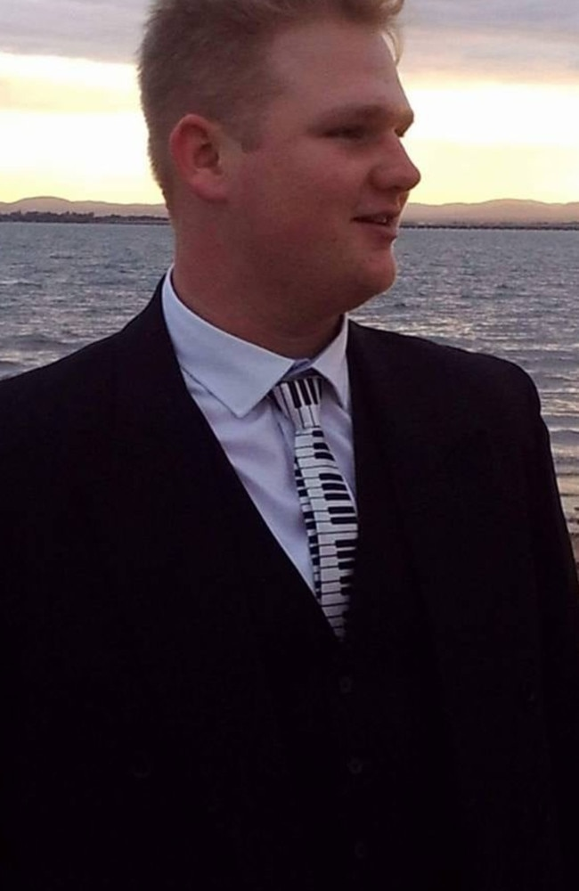 Angus Barnes, 22, died in a crash at Bracalba, on March 21, along with friend Mitch Harpley. Photo: FACEBOOK