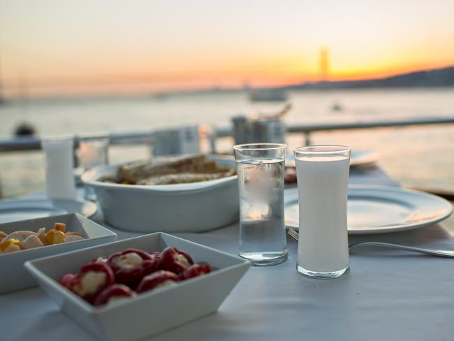 "RAKI OR OUZO Depending on which island you're visiting, the go-to drink will be Raki from Turkey or Ouzo from Greece. No meal is complete with a bottle of the local spirit. Don't forget to say ""Yamas!"""