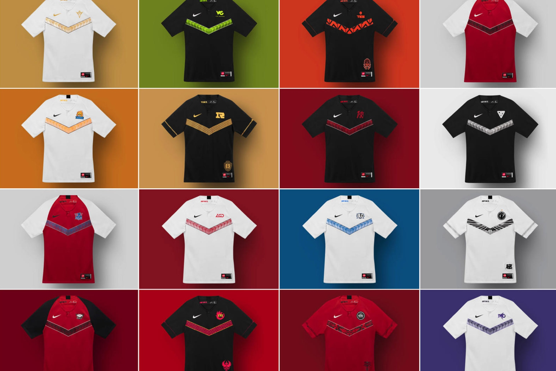 Esports Gets The Football Treatment As Nike Unveils Its League of Legends Pro League Kit Collection