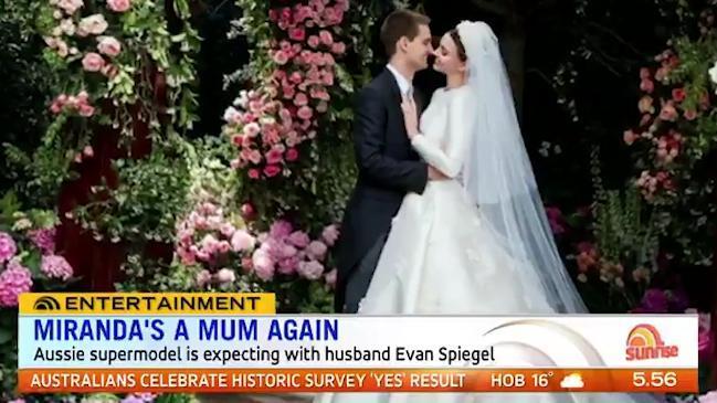 Miranda Kerr pregnant with second child