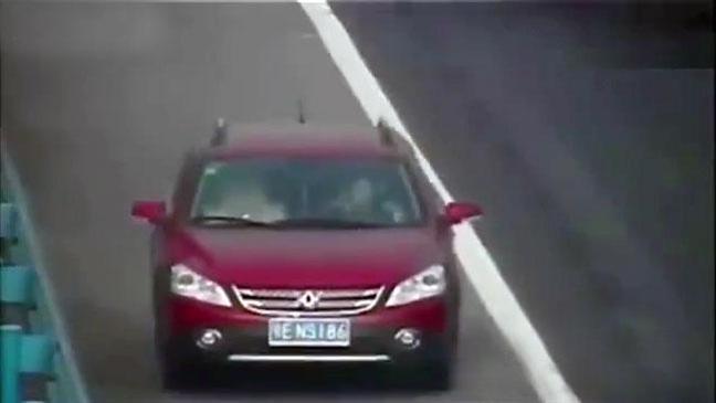 Bad driver reverses 2km down highway