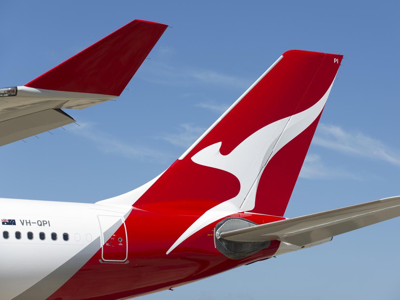 Qantas livery for new planes