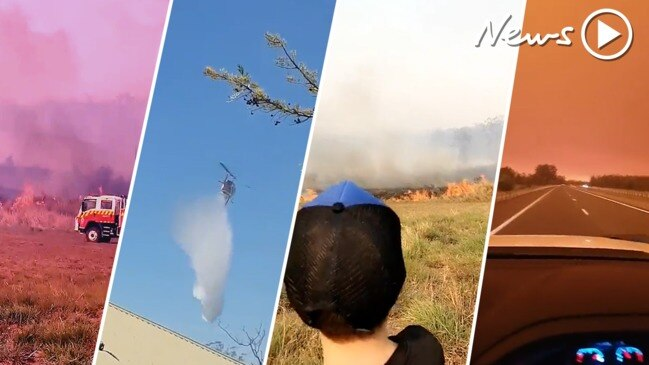 NSW, QLD fires: sobering footage from the ground