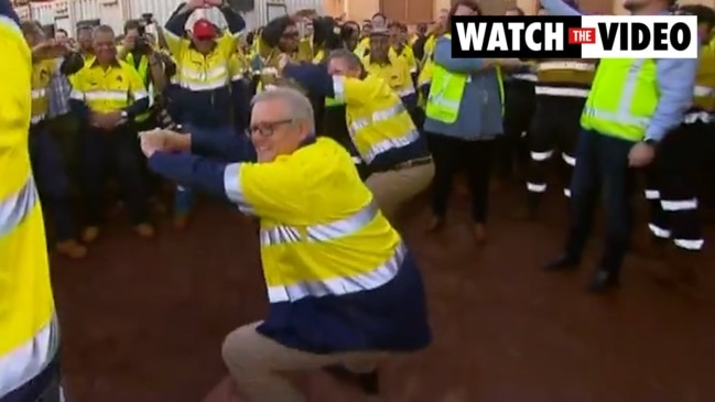Scott Morrison's early morning WA workout