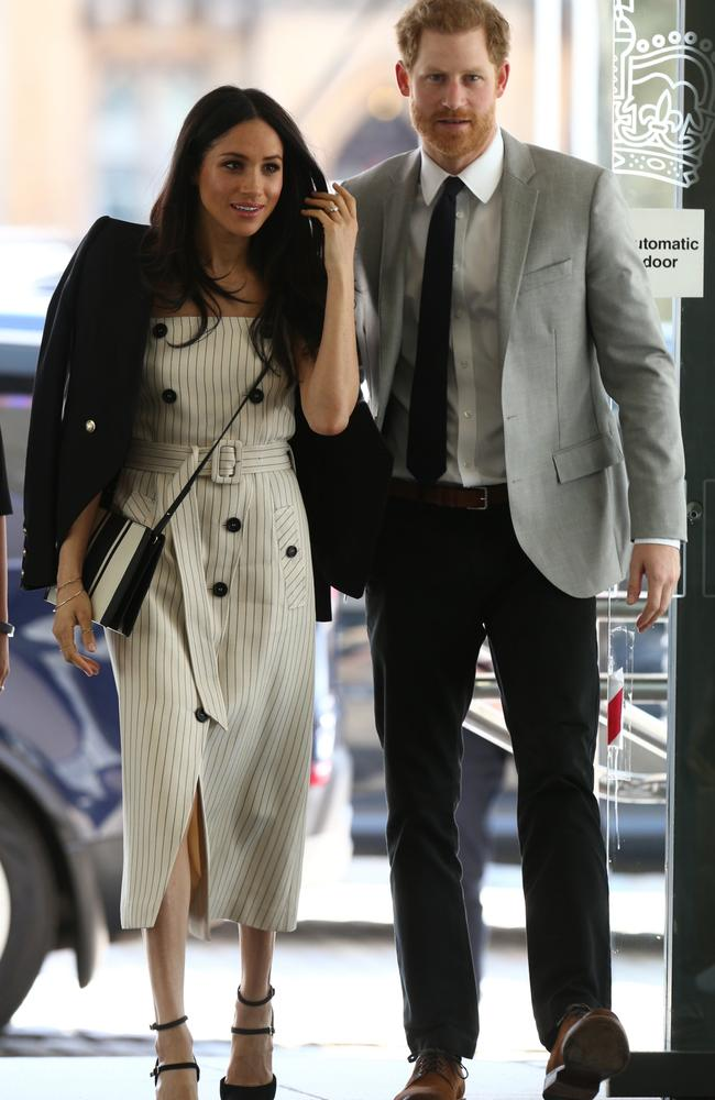 Meghan and Harry had their first date at Soho House in London. Picture: Yui Mok – WPA Pool/Getty Images