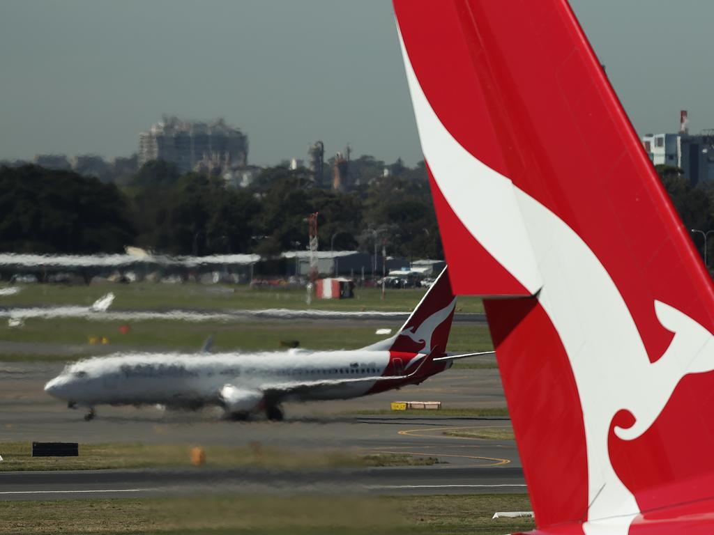 Qantas will ground all international flights and all but 10 per cent of its domestic capacity. Picture: Mark Metcalfe/Getty Images