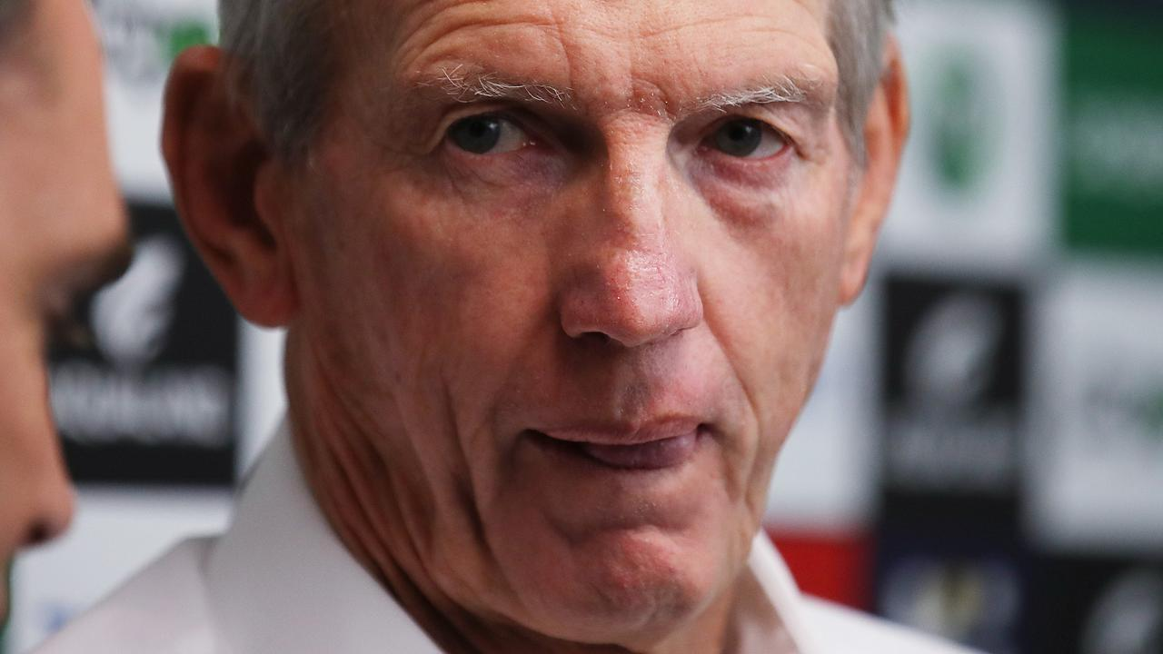 Wayne Bennett had a 64 per cent winning record at the Broncos before he was sacked.