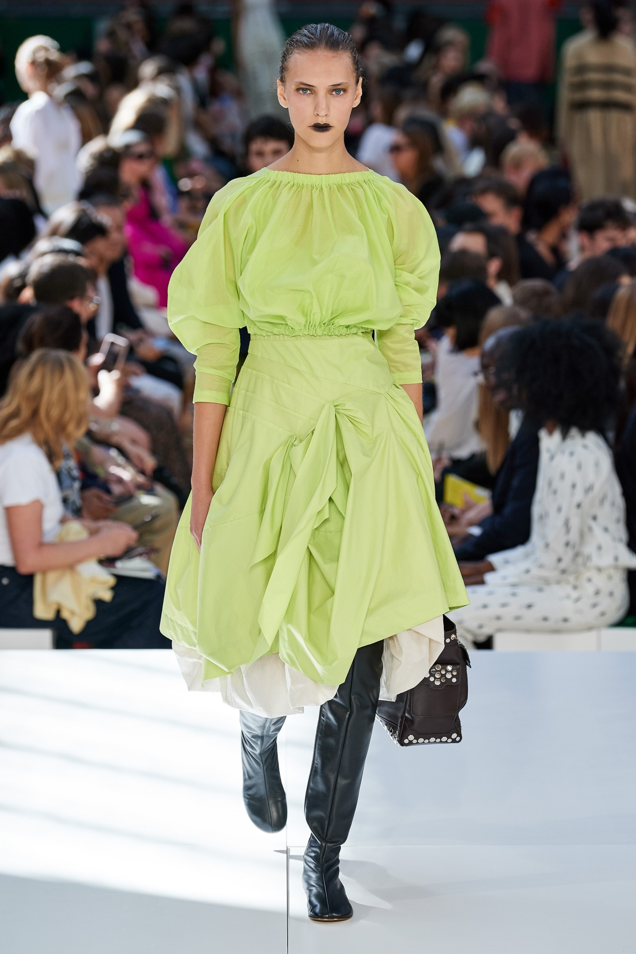 Suzy Menkes at London Fashion Week ready-to-wear spring/summer 2020