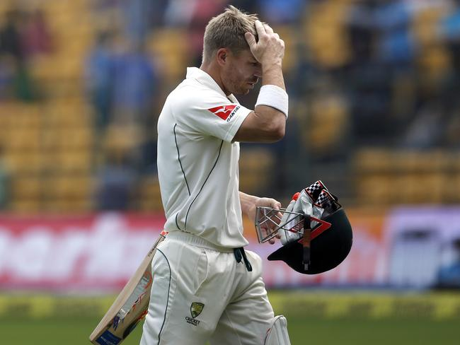 Warner has failed to register a half century this series.