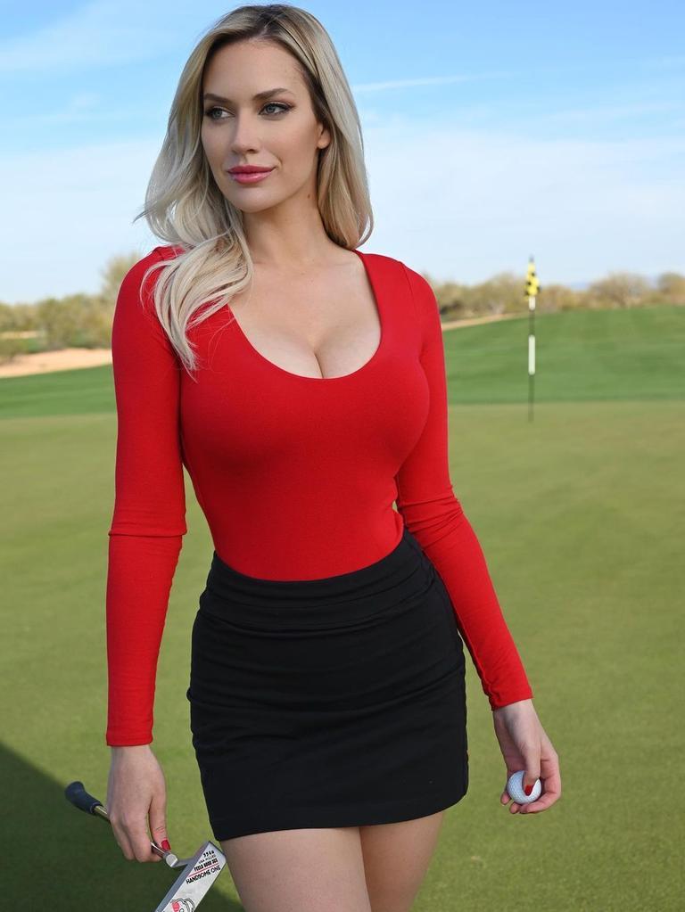 Paige Spiranac thought Bryson DeChambeau's Tiger Woods name drop was disengenous.