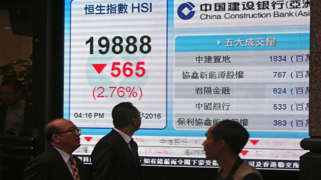 China Market Misery Deepens