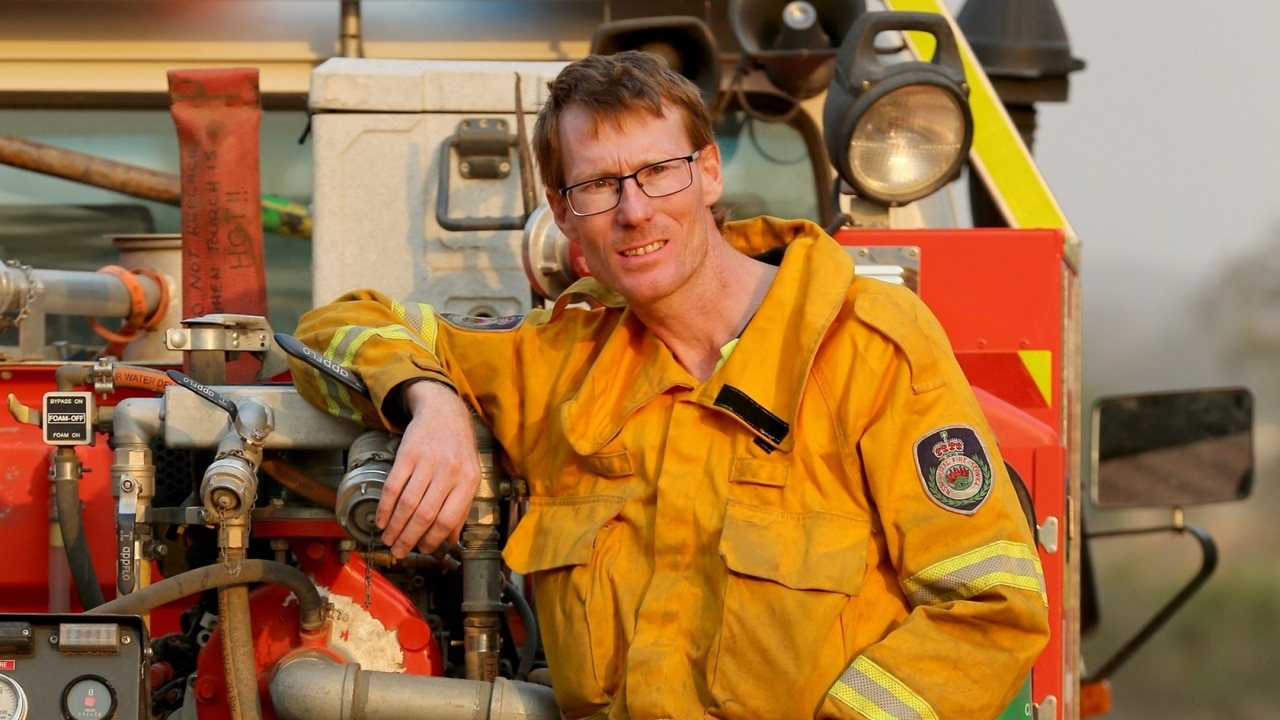 Cancer stricken firefighter Ryan Channells is 'a hero to us all'