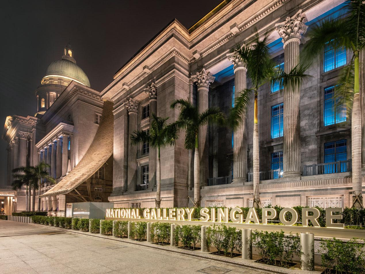 ESCAPE: SINGAPORE MUSEUMS .. Paul Ewart story .. National Gallery of Singapore. Picture: Supplied