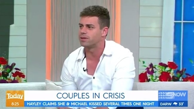 Karl grills MAFS star Michael about his treatment of Stacey (The Today Show)