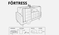 IKEA designs cubbies for kids in lockdown