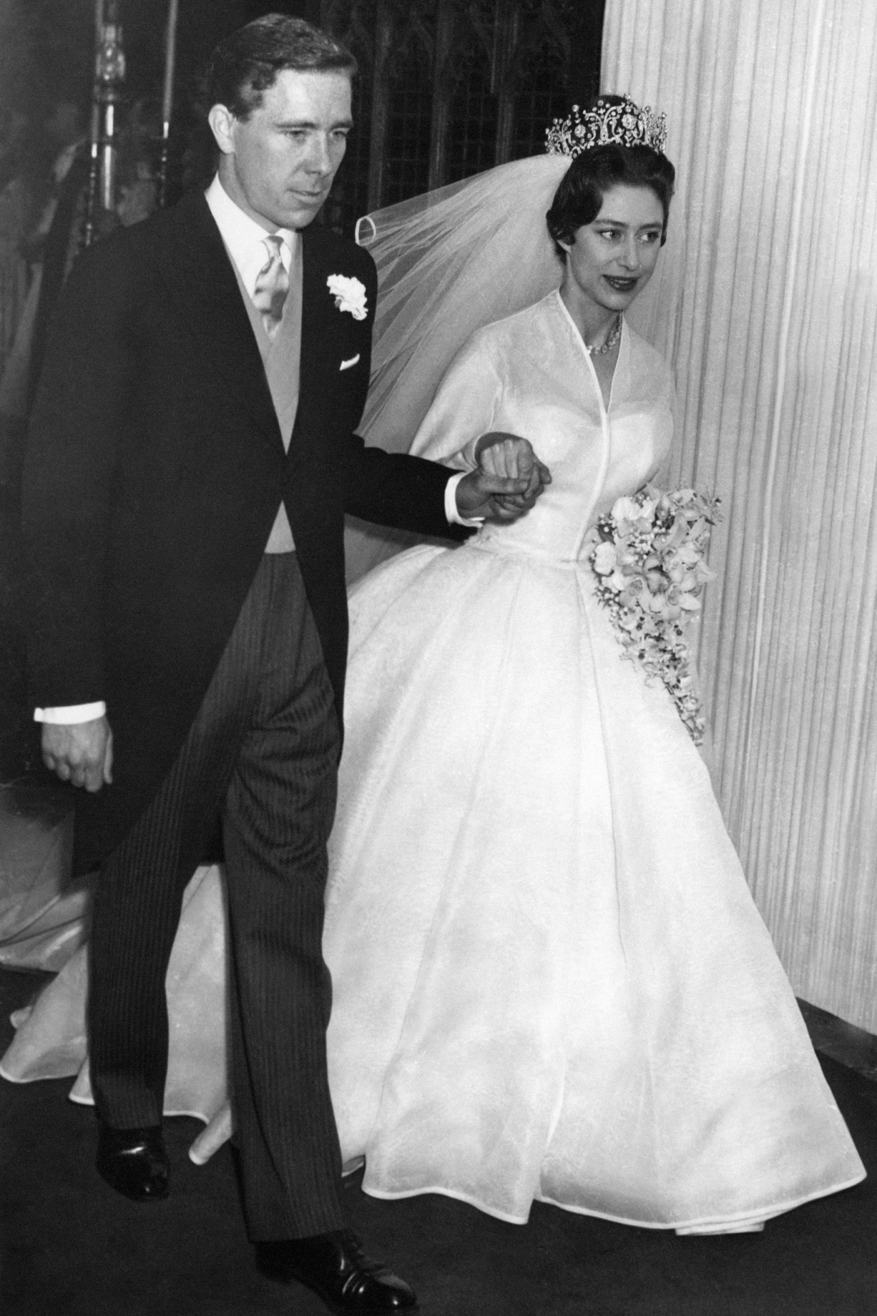 Inside Princess Margaret and Antony Armstrong-Jones's 1960 wedding ...