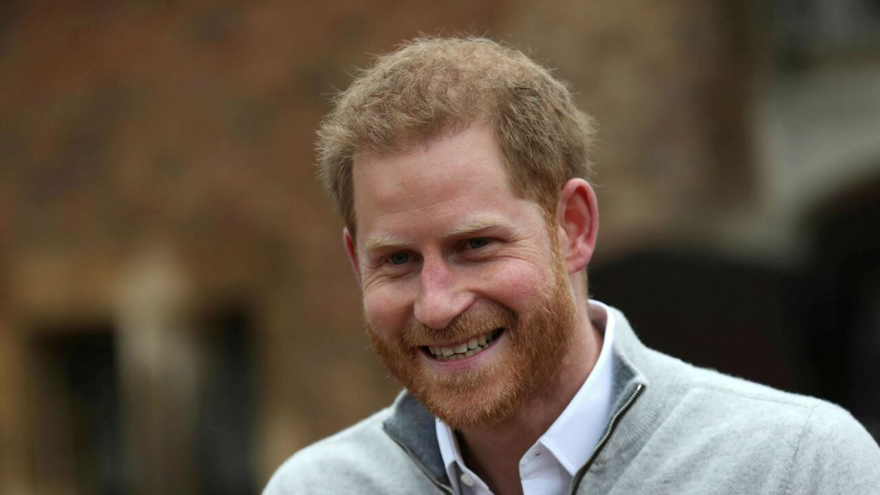 Prince Harry reaches out to families struggling through isolation