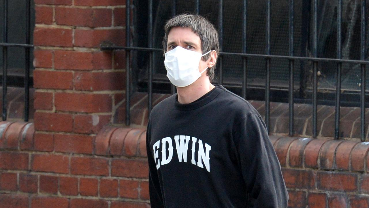 Richard Pusey photographed after being released on bail in October. Picture: Andrew Henshaw