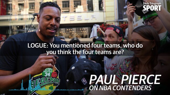 Paul Pierce: There are four NBA title contenders this season