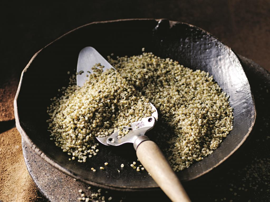Hemp's nutrient-rich seed is used in a wide range of food products. Picture: Kindred Organics
