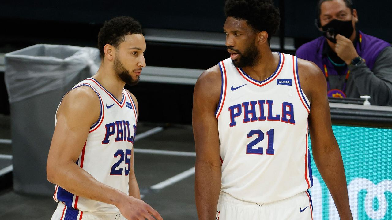 Ben Simmons isn't trusting the process anymore. (Photo by Christian Petersen/Getty Images/AFP)