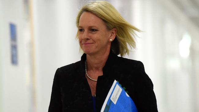 Minister for Rural Health Fiona Nash has ruled out a sugary drinks tax. Picture: AAP/Mick Tsikas