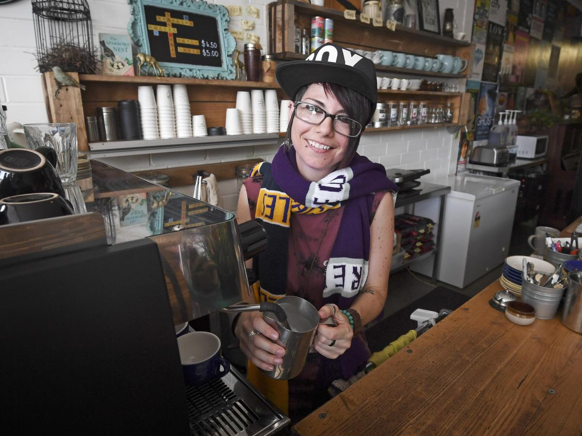 The Sparrow's owner Lara Wolinski is offering discount brunch for stadium ticket holders.