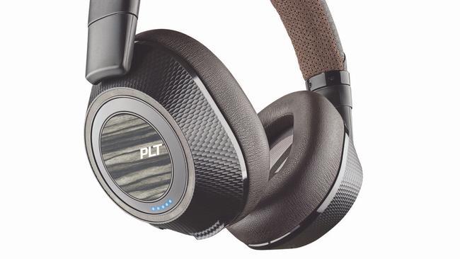 The Plantronics BackBeat Pro 2 headphones feature Class 1 Bluetooth technology.