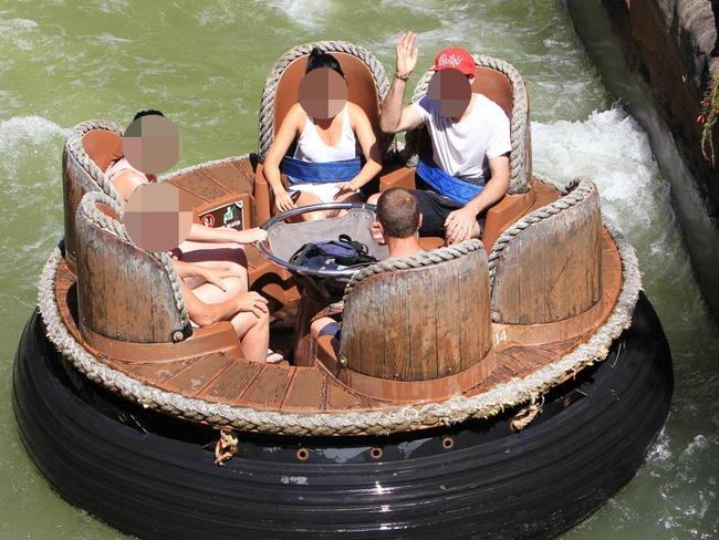 The Thunder River Rapids ride at Dreamworld.