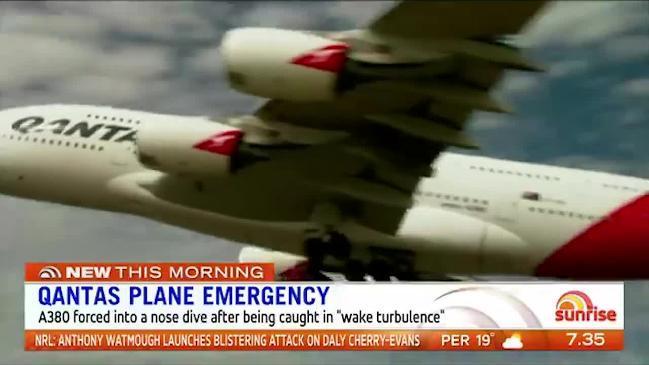 Qantas plane in mid air scare