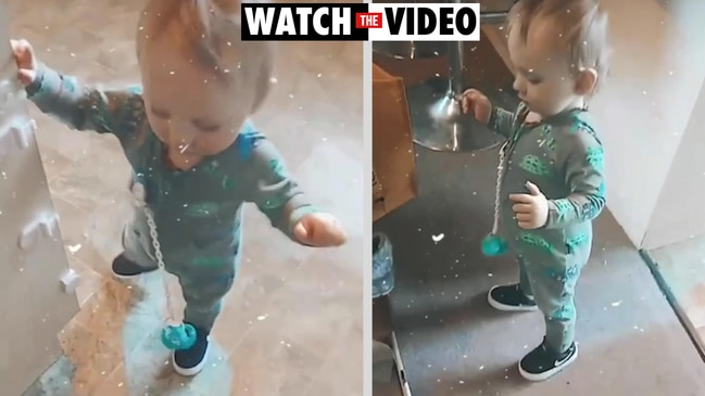 Heartbreaking video of 14-month-old Spencer Roberts before freak accident