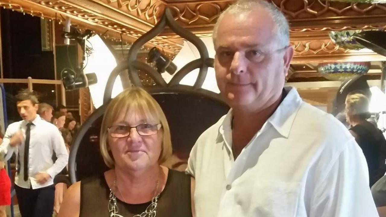 Sandra Howard with Charlie Cernobori. Picture: Facebook via NCA NewsWire