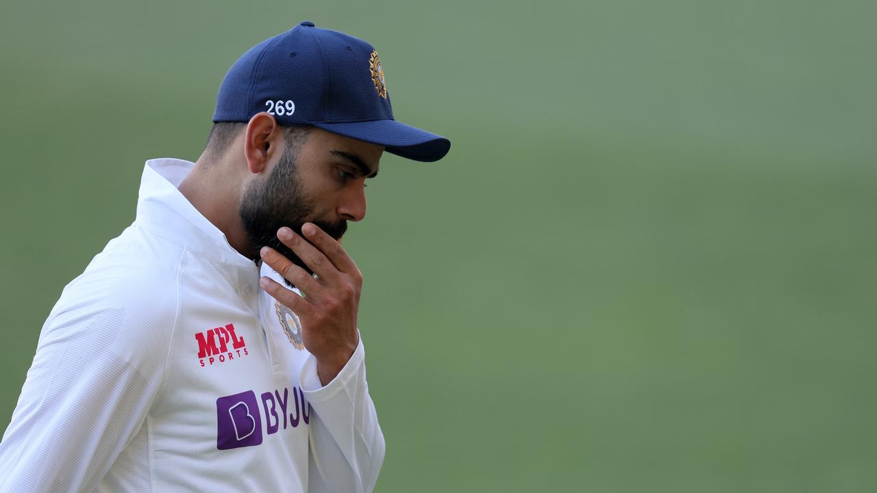 Virat Kohli's series is over. (Photo by Daniel Kalisz/Getty Images)