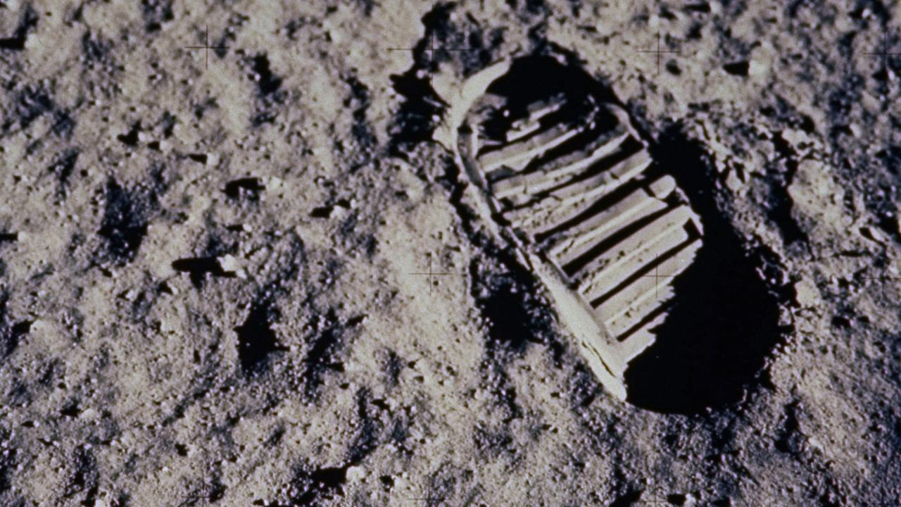 AUS50TH 1969: RETRANSMISSION OF PHOTO TO CORRECT PHOTO ORIENTATION - FILE - In this July 20, 1969 file photo, a footprint left by one of the astronauts of the Apollo 11 mission shows in the soft, powder surface of the moon. Commander Neil A. Armstrong and Air Force Col. Edwin E. |Buzz| Aldrin Jr. became the first men to walk on the moon after blastoff from Cape Kennedy, Fla., on July 16, 1969. The family of Neil Armstrong, the first man to walk on the moon, says he died Saturday, Aug. 25, 2012, at age 82. A statement from the family says he died following complications resulting from cardiovascular procedures. It doesn't say where he died. Armstrong commanded the Apollo 11 spacecraft that landed on the moon July 20, 1969. He radioed back to Earth the historic news of |one giant leap for mankind.| Armstrong and fellow astronaut Edwin |Buzz| Aldrin spent nearly three hours walking on the moon, collecting samples, conducting experiments and taking photographs. In all, 12 Americans walked on the moon from 1969 to 1972. (AP Photo/NASA) Picture: Supplied