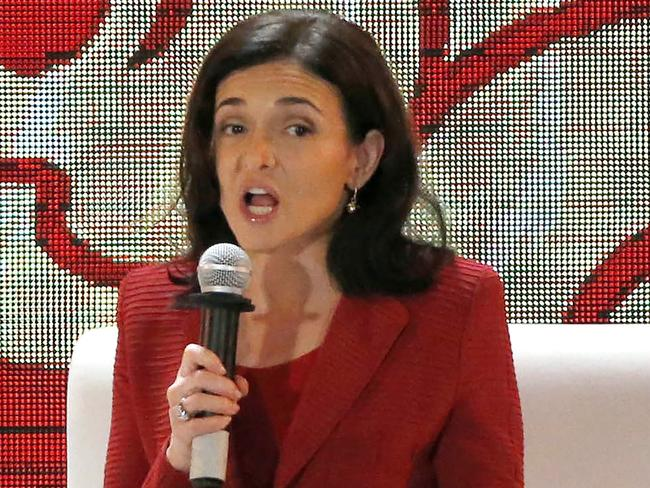 """Sheryl Sandberg says companies need to take """"swift action"""" to stop harassment in the workplace. Picture: AFP/Nyien Chan Naing"""
