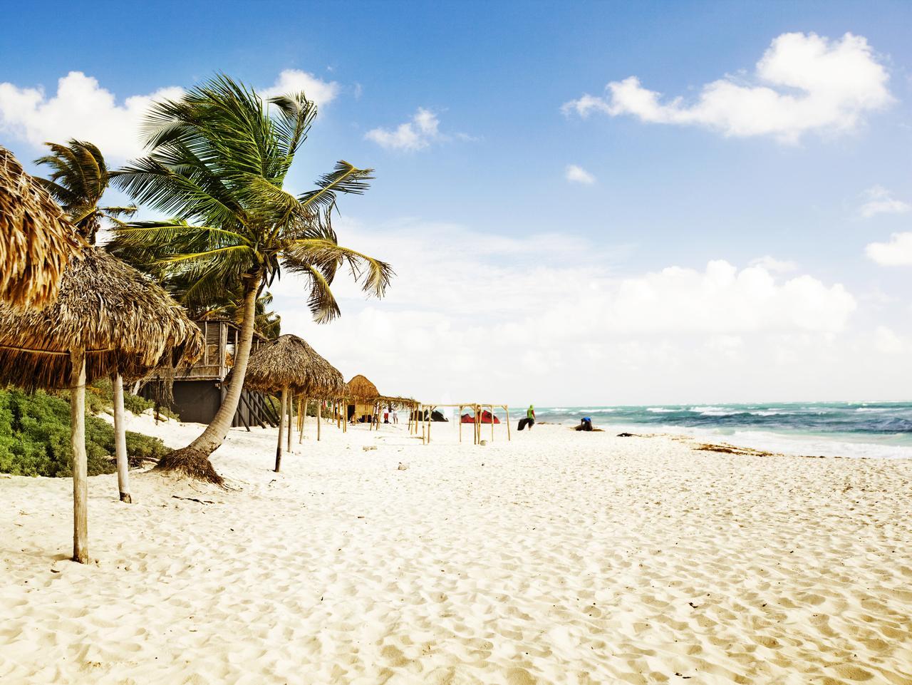 Tulum beach. Tulum, Quintana Roo, Mexico