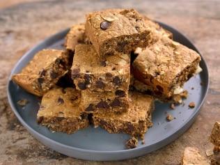 Dan Churchill's almond butter protein bars are guaranteed to satisfy