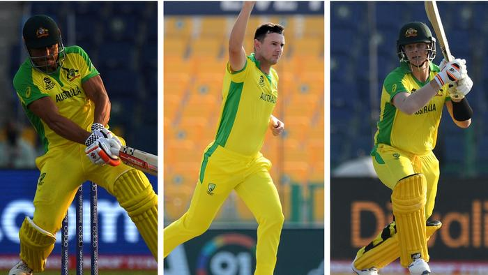 Josh Hazlewood earned man of the match honours, uut he was well supported by Steve Smith and Marcus Stoinis.