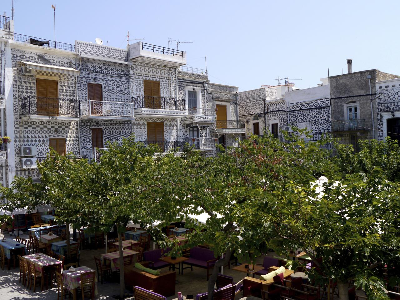Pyrgi's town square. Picture: ThinkStock