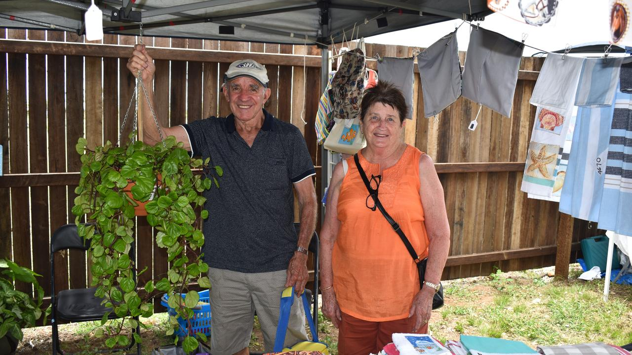 The dream team, husband and wife Hysen and Maureen Sali. Picture: Rhylea Millar.