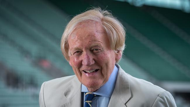 Iconic Melburnian Ron Walker has died. Picture: Jake Nowakowski