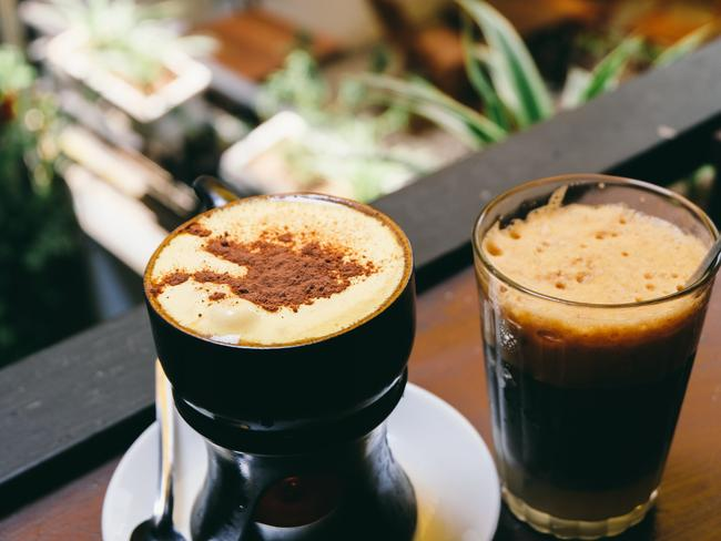 CONDENSED MILK IN COFFEE Vietnam has discovered the magic of switching out basic milk for condensed milk, and it's time we got on board too.