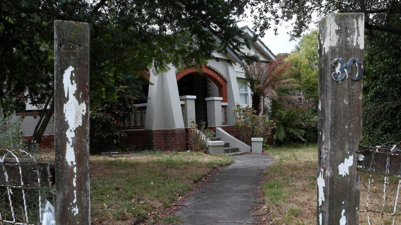 This house at 30 Omama Rd in Murrumbeena was the site of a murder.
