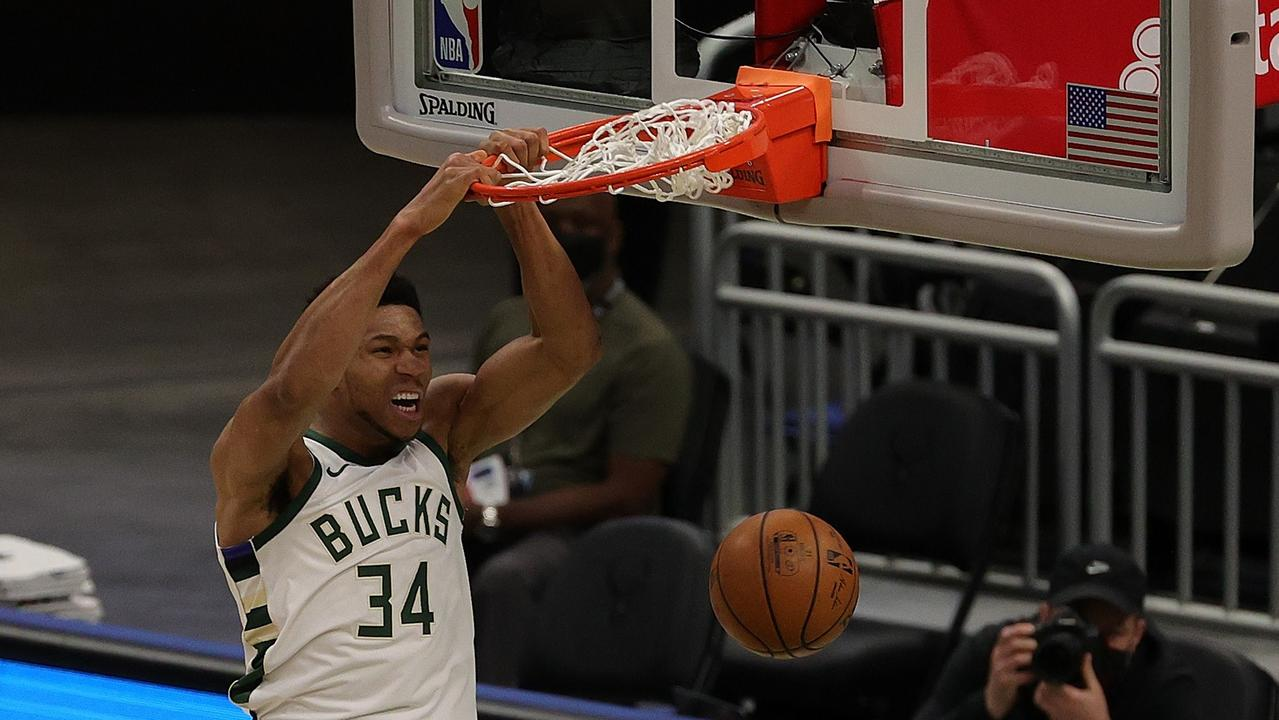 Giannis Antetokounmpo is unstoppable.