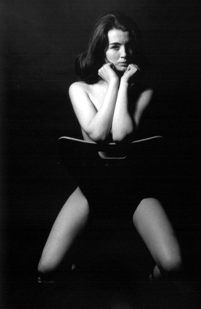 Christine Keeler and Chair was taken by Lewis Morley in 1963.