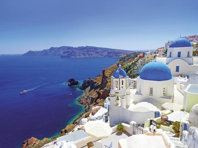 EUROPE 12-DAY PACKAGE, $2820 Fly to Europe return from $199 a person plus get 20 per cent off Contiki trips when you book before February 27, 2020. For example, the 12-day European Discovery tour is now priced from $2820 and takes you through nine countries. Or try the longer 33-day European Explorer plus Greek Island Cruising, now from $8235 a person, which will introduce you to 19 countries topped off with a Greek Islands cruise. Offer is valid for departures from March 26, 2020 to October 31, 2020. statravel.com.au