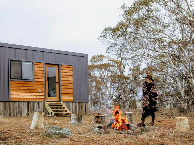 3. GLAMPING IN SNOWY MOUNTAINS Get off the grid, but do it in style with a stay at the Tiny House. Set on acres of beautiful bushland near Jindabyne, this petite stay is ideal for couples and makes for a perfect romantic getaway. Toast marshmallows by the fire pit and gaze into the night sky; explore the ancient gum trees and nearby Mowamba River and enjoy the serenity.